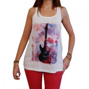 GUITAR:WOMEN'S TUNIC CELEBRITY STAR..